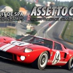 Assetto Corsa | FORD GT40 MKI @ Circuit de Spa-Francorchamps