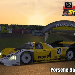 Porsche 956 @ Nogaro Driver's View   Stock Car Extreme 60FPS