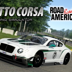Assetto Corsa | Bentley Continental GT3 @ Road America
