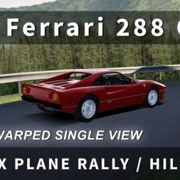 Ferrari 288 GTO @ Joux Plane in Assetto Corsa [Oculus Rift DK2 (Un-Warped) + Logitech G27 Wheel]
