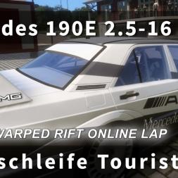 Mercedes 190E 2.5-16 EVO II at Nordschleife in Assetto Corsa DLC [Oculus Rift DK2 Unwarped + T300RS]