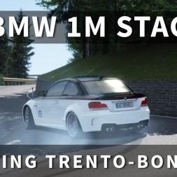 BMW 1M Stage 3 Drifting Trento-Bondone Hill Climb   Assetto Corsa [Oculus Rift DK2 + T300RS]