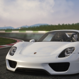 Porsche 918 Drift at Portimao | Assetto Corsa [Oculus Rift DK2 + T300RS]