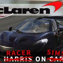 Rift Racer on Sims - McLaren P1 at Portimao | Assetto Corsa [Oculus Rift DK2 + T300RS]