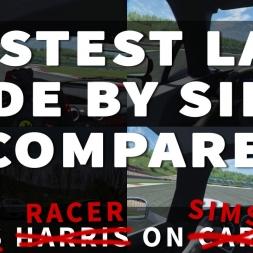 Rift Racer on Sims: La Ferrari vs McLaren P1 vs Porsche 918 at Portimao
