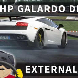 Taming the 1200hp Twin Turbo Lambo [External Cams] | Assetto Corsa [Oculus Rift DK2 + T300RS]