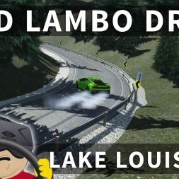 RWD Lamborghini Gallardo Drift Lake Louise 2.0 | Assetto Corsa [Oculus Rift DK2 + T300RS]