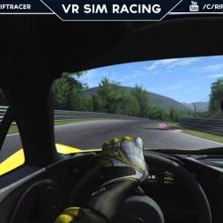 McLaren P1 Hotlap @ Nordschleife BTG | Assetto Corsa [Oculus Rift DK2 + T300RS]
