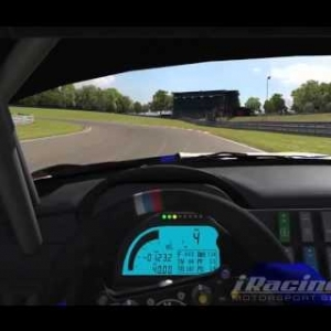 Iracing Bmw Z4 Gt3 Blancpain Sprint Hotlap Brands Hatch 1:22.3