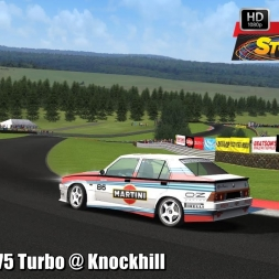 Alfa Romeo 75 Turbo @ Knockhill Driver's View - Stock Car Extreme 60FPS