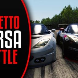 Assetto Corsa - Lotus Evora GX - Online Race Battle at Brands Hatch