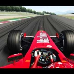 Assetto Corsa - Ferrari F2002 OnBoard Lap @ Mugello