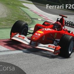 Assetto Corsa Ferrari F2002 Onboard Imola