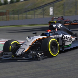 iRacing: F1 Race at Spa-Francorchamps: Race 2 Overtakes