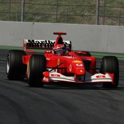 Assetto Corsa Ferrari F2002 onboard Barcelona