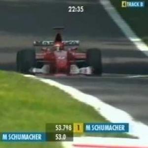 F1 Monza 2002 Qualifying - Michael Schumacher Hot Lap