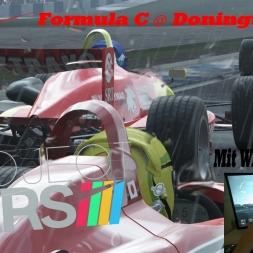 Project Cars Gamplay POV-Formula C @ Donington GP in Rain [Wheelcam] [T500rs] [HD]