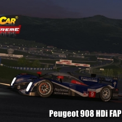 Peugeot 908 HDi FAP @ Spielberg Helmet Effect - Stock Car Extreme 60FPS