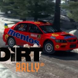 Dirt Rally - Lancer Evo IX in Sweden