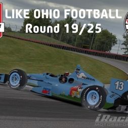 """iRacing: Like Ohio Football"" (IndyCar Winter Series Round 19: Mid-Ohio SportsCar Course)"