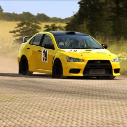 Dirt Rally - Mitsubishi on german tarmac