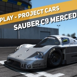Let's Play | Project CARS | Sauber C9 Mercedes-Benz