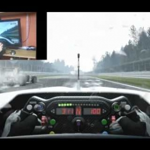 Project C.A.R.S F1 Formula A in Rain