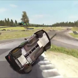 Dirt Rally - Solberg barrel roll, World RX