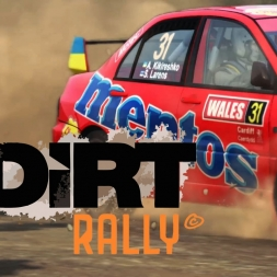 Dirt Rally - Lancer Evo IX in Greece