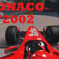 Assetto Corsa - Ferrari F2002 @ Monaco
