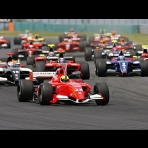 Apex Formula Renault 3.5 Series: Pole Position lap and race start @ Hockenheim