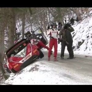 WRC RALLYE MONTE CARLO HIGHLIGHTS | Crashes And Fails [HD]