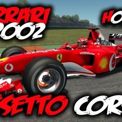 Assetto Corsa - Ferrari F2002 - Monza