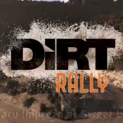 Dirt Rally - Subaru Impreza 555 at Sweet Lamb