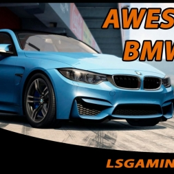 Assetto Corsa - AWESOME BMW M4 Akrapovič - 4 CAMs