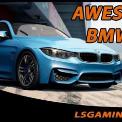 Assetto Corsa - AWESOME BMW M4 Akrapovič - 4 CAMs