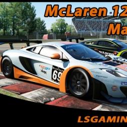 Assetto Corsa Online - McLaren MP4 12-C GT3 @ Magione