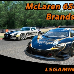 Assetto Corsa 1.4.3 - Online - McLaren 650s GT3 @ Brands Hatch