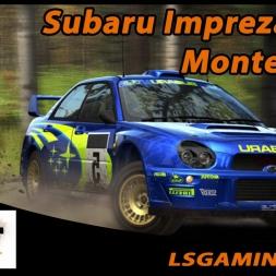 Dirt Rally - 2.0 - Subaru Impreza 2001 @ Monte Carlo - Xiaomi Yi
