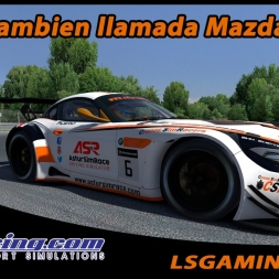 iRacing - GT3, tambien llamada Mazda Cup...