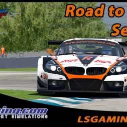 iRacing 16S1 W5 - Road to finish... - BMW Z4 GT3 @ Sebring