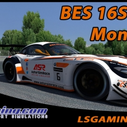 iRacing - BES 16S1 W4 - BMW Z4 GT3 @ Montreal - CSR