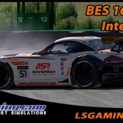 iRacing - BES 16S1 W3 BMW Z4 GT3 @ Interlagos - CSR