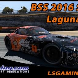 iRacing - ¡Cronos al ataque! @ BSS 2016S1 W2 @ Laguna Seca - CSR