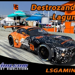 iRacing - Destrozando el BMW Z4 GT3 - BSS @ Laguna Seca