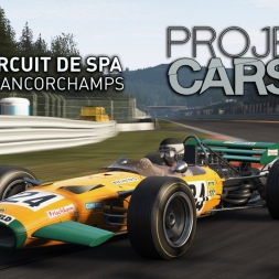 Project CARS | Lotus Type 49C Cosworth @ Circuit de Spa-Francorchamps