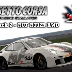 Assetto Corsa | Dream Pack 2 | RUF RT12R RWD @ Silverstone GP