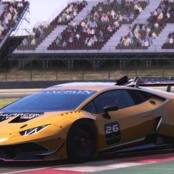 Lamborghini Super Trofeo @ Barcelona Moto  |  Round 1