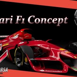 Mods: Ferrari F1 concept - Assetto Corsa