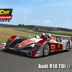 Audi R10 TDI @ Snetterton Driver's View - Stock Car Extreme 60FPS